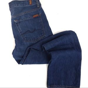 7 for all mankind Standard straight leg size 31